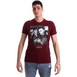 Oblečenie Muži Tričká s krátkym rukávom Gaudi 921BU64003 Červená