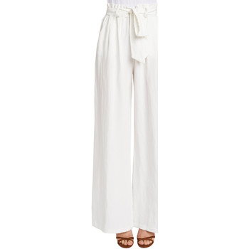 Oblečenie Ženy Padavé nohavice Gaudi 011FD25033 Biely