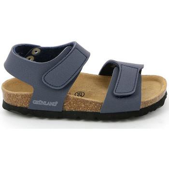 Topánky Deti Sandále Grunland SB0014 Modrá