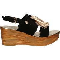 Topánky Ženy Sandále Byblos Blu 672213 čierna