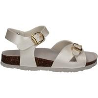 Topánky Deti Sandále Bionatura 22B1005 Biely