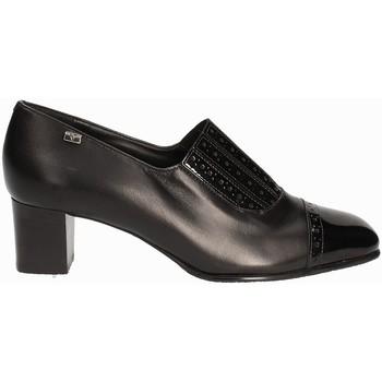 Topánky Ženy Mokasíny Valleverde V12024 čierna
