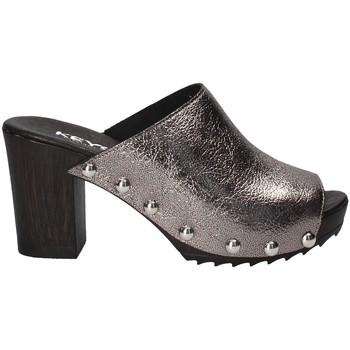 Topánky Ženy Šľapky Keys 5868 Šedá