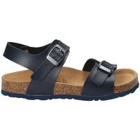 Topánky Deti Sandále Bamboo BAM-10 Modrá