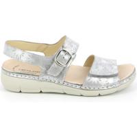 Topánky Ženy Sandále Grunland SE0459 Striebro