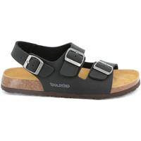 Topánky Muži Sandále Grunland SB3645 čierna