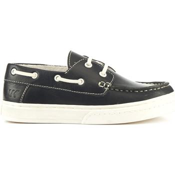 Topánky Deti Námornícke mokasíny Lumberjack SB28704 001 B01 čierna
