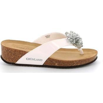 Topánky Ženy Žabky Grunland CB2482 Biely