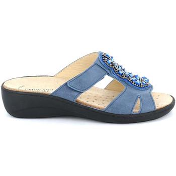 Topánky Ženy Šľapky Grunland CE0710 Modrá