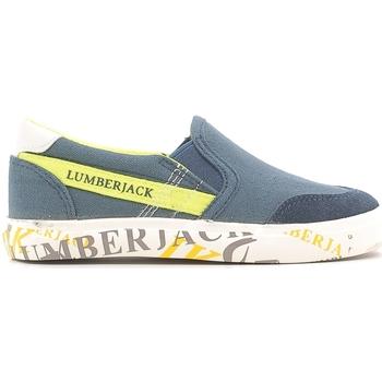 Topánky Deti Slip-on Lumberjack SB09105 003 N58 Modrá