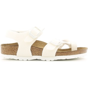 Topánky Dievčatá Sandále Birkenstock 371593 Biely