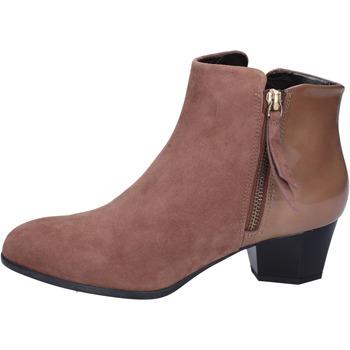 Topánky Ženy Čižmičky Hogan BK688 Hnedá