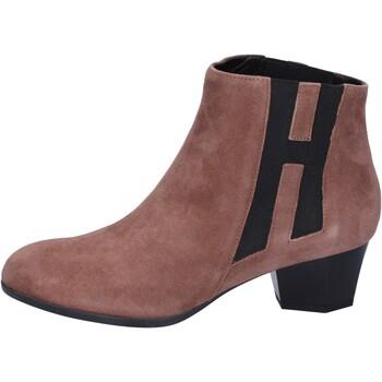 Topánky Ženy Čižmičky Hogan BK699 Hnedá