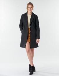 Oblečenie Ženy Kabáty Only ONLNATALIA Čierna