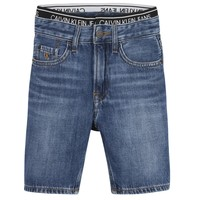 Oblečenie Chlapci Šortky a bermudy Calvin Klein Jeans AUTHENTIC LIGHT WEIGHT Modrá