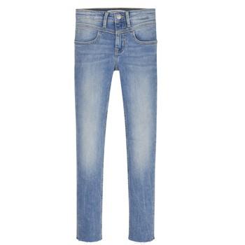 Oblečenie Dievčatá Rifle Skinny  Calvin Klein Jeans IG0IG00971-1AA Modrá