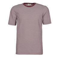 Oblečenie Muži Tričká s krátkym rukávom Scotch & Soda 160847 Červená / Biela