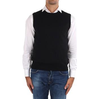 Oblečenie Muži Cardigany La Fileria 14290 55168 Black