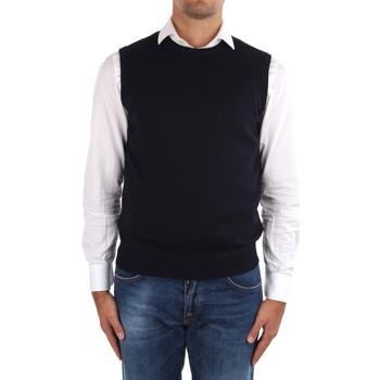 Oblečenie Muži Cardigany La Fileria 14290 55168 Blue