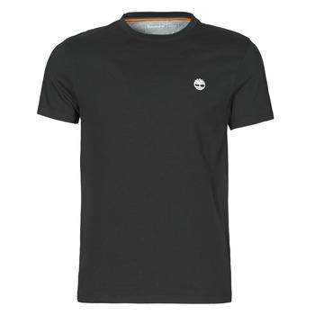 Oblečenie Muži Tričká s krátkym rukávom Timberland SS DUNSTAN RIVER POCKET TEE SLIM Čierna