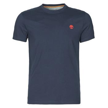 Oblečenie Muži Tričká s krátkym rukávom Timberland SS DUNSTAN RIVER POCKET TEE SLIM Námornícka modrá