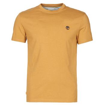 Oblečenie Muži Tričká s krátkym rukávom Timberland SS DUNSTAN RIVER POCKET TEE SLIM Béžová