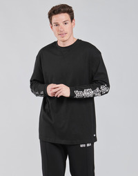 Oblečenie Muži Tričká s dlhým rukávom Urban Classics TB4140 Čierna
