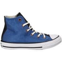 Topánky Deti Členkové tenisky Converse 659965C Modrá