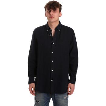 Oblečenie Muži Košele s dlhým rukávom Navigare NV91108 Modrá