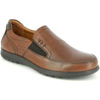 Topánky Muži Mokasíny Grunland SC4449 Hnedá