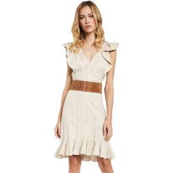 Oblečenie Ženy Krátke šaty Gaudi 011FD15057 Béžová