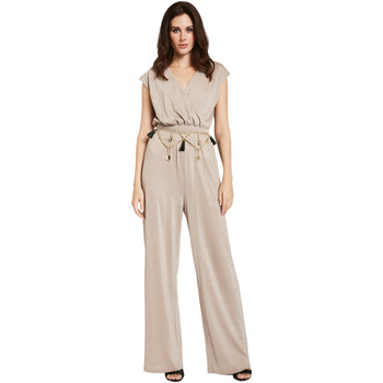 Oblečenie Ženy Módne overaly Gaudi 011FD24001 Béžová