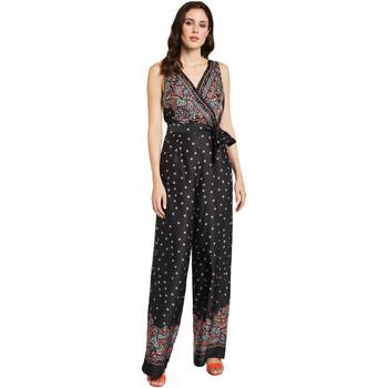 Oblečenie Ženy Módne overaly Gaudi 011FD25027 čierna