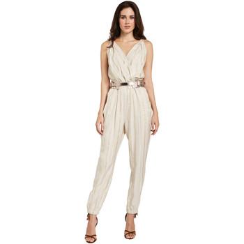 Oblečenie Ženy Módne overaly Gaudi 011FD25028 Béžová