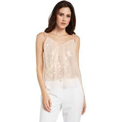 Oblečenie Ženy Blúzky Gaudi 011FD45036 Ružová