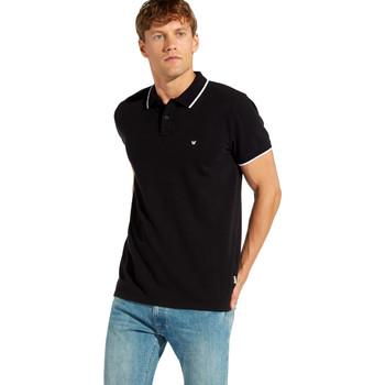 Oblečenie Muži Polokošele s krátkym rukávom Wrangler W7C10K čierna