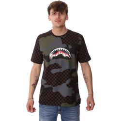 Oblečenie Muži Tričká s krátkym rukávom Sprayground SP01820BRO Hnedá