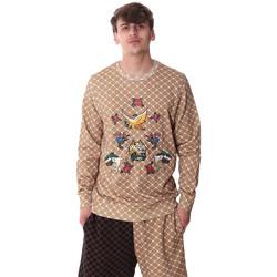 Oblečenie Muži Mikiny Sprayground 20SP025 Béžová