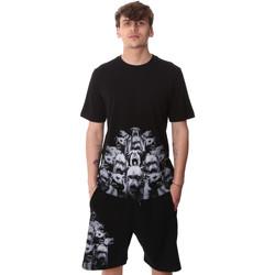 Oblečenie Muži Tričká s krátkym rukávom Sprayground 20SP012 čierna