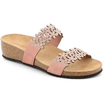 Topánky Ženy Šľapky Grunland CB2478 Ružová