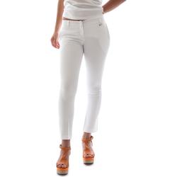 Oblečenie Ženy Nohavice Chinos a Carrot Animagemella 16PE003 Biely