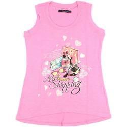 Oblečenie Ženy Tielka a tričká bez rukávov Key Up S88Z 0001 Ružová