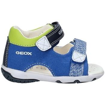 Topánky Deti Sandále Geox B82L8B 01054 Modrá