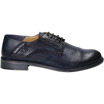 Topánky Muži Derbie Exton 3102 Modrá