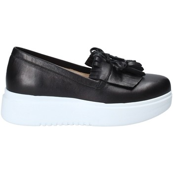 Topánky Ženy Slip-on Exton E01 čierna