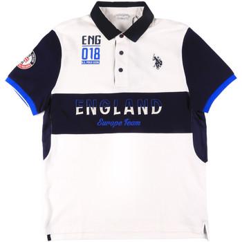 Oblečenie Muži Polokošele s krátkym rukávom U.S Polo Assn. 43773 41029 Biely