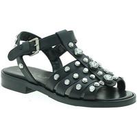 Topánky Ženy Sandále Mally 6134 čierna