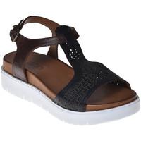 Topánky Ženy Sandále Bueno Shoes N3403 čierna