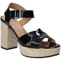 Topánky Ženy Sandále Janet Sport 43883 čierna