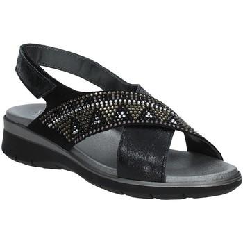 Topánky Ženy Sandále Soffice Sogno E9490 čierna